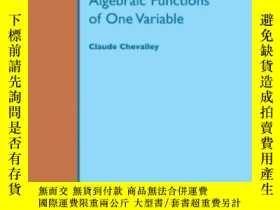 二手書博民逛書店Introduction罕見To The Theory Of Algebraic Functions Of One
