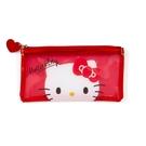 【震撼精品百貨】Hello Kitty 凱蒂貓~日本三麗鷗SANRIO~透明筆袋*58277