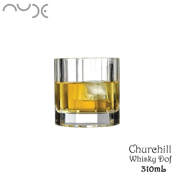 NUDE Churcill Whisky Dof 教堂水晶威士忌杯 310mL 水晶杯 威杯 威士忌杯 酒杯