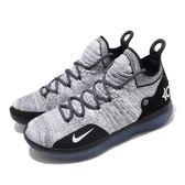 Nike 籃球鞋 Zoom KD11 EP Racer Blue 黑 藍 11代 React 運動鞋 男鞋【PUMP306】 AO2605-006