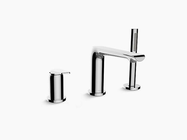 【麗室衛浴】美國KOHLER Avid 缸上型龍頭 K-97360T-4-CP