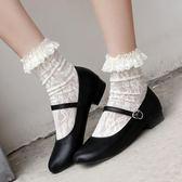 夏季日系女鞋瑪麗珍單鞋復古森女學院風軟妹小皮鞋圓頭娃娃鞋   莉卡嚴選