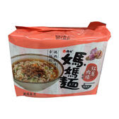 媽媽麵紅蔥肉燥風味80g*5【愛買】