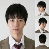 男假髮(整頂短髮)-時尚帥氣新款蓬鬆男配件3色73fj6[時尚巴黎]