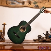 吉他 39寸初學者女入門練習木吉他女生可愛成人旅行電箱吉它男 QX16010 【花貓女王】