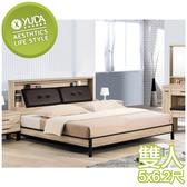 床架【YUDA】歐都納 5尺 雙人床 床架/床檯/床底 S9Y 32-1