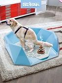 狗狗廁所小型犬泰迪比熊狗便盆狗尿盆屎盆狗用品【極簡生活】