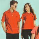 日本名牌Kawasaki男女運動休閒棉質短POLO衫(紅)