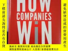 二手書博民逛書店How罕見Companies Win: Profiting from Demand-driven Business