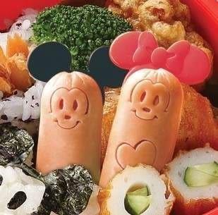 【發現。好貨】日本進口迪士尼Mickey米奇米妮可愛小香腸壓模熱狗壓模可愛便當