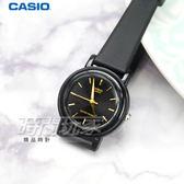 CASIO卡西歐 LQ-139EMV-1A 輕薄簡約指針腕錶 女錶 石英錶 防水手錶 小圓錶 黑x金 LQ-139EMV-1ALDF