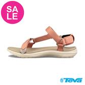 TEVA Sanborn 女款 珊瑚橘 足弓織帶涼鞋 零碼出清 I6816#橘色◆OSOME奧森鞋業