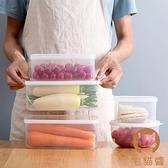 便當盒透明保鮮盒塑膠水果密封盒冰箱收納食物儲物盒【宅貓醬】