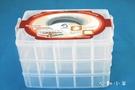心動小羊^^大號30格,超大三層可拆格板、手提首飾盒、收納盒、儲物盒