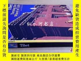 二手書博民逛書店英文原版tibet:turning罕見the wheel of