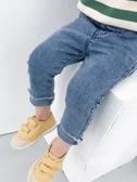 男童牛仔褲修身褲兒童休閑長褲寶寶童裝【奇趣小屋】