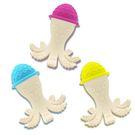 PUKU 藍色企鵝 Baby GaGa章魚固齒器(含鍊夾/保存盒)顏色隨機