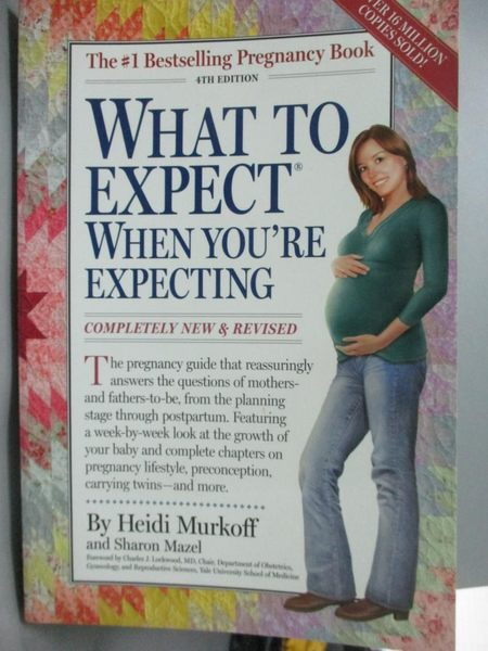 【書寶二手書T1/保健_ZDX】What to Expect When You're Expecting