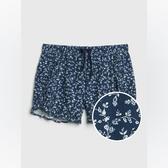 Gap女童甜美風格鬆緊腰短褲540061-印花
