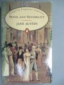 【書寶二手書T2/原文小說_IMO】Sense and Sensibility_Austen, Jane