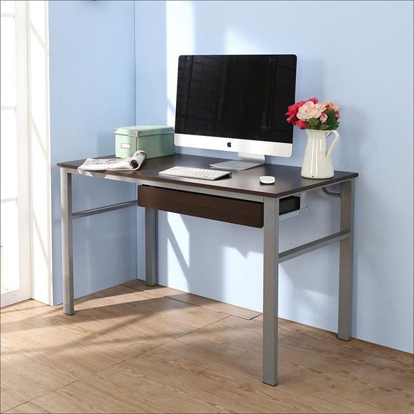 【澄境】I-B-DE050WA-DR 低甲醛防潑水120公分單抽屜穩重型工作桌