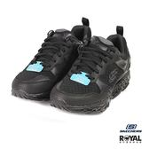 Skechers 新竹皇家 SRR 黑色 網布 輕量 回彈力慢跑鞋 男女款 NO.B0408-I9468