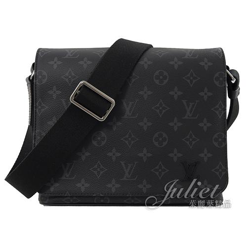 茱麗葉精品 【展示全新 優惠價 】Louis Vuitton M44000 DISTRICT PM 經典花紋斜背包