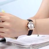 兒童手錶女生手錶女孩小學生初中生夜光防水小清新少女心兒童指針式電子錶 JUST M