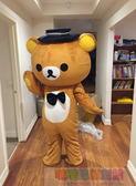 輕鬆熊卡通人偶服裝動漫玩偶服布朗熊活動開業慶典【噠噠鈴原創館】