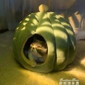 寵物窩 貓窩冬季保暖封閉式四季通用貓咪窩寵物房子別墅貓床深度睡眠貓屋YYJ 麥琪