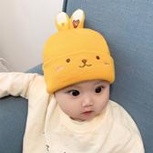 寶寶帽子秋冬季嬰兒帽子0-6-12個月韓版兒童帽子針織毛線帽男女孩
