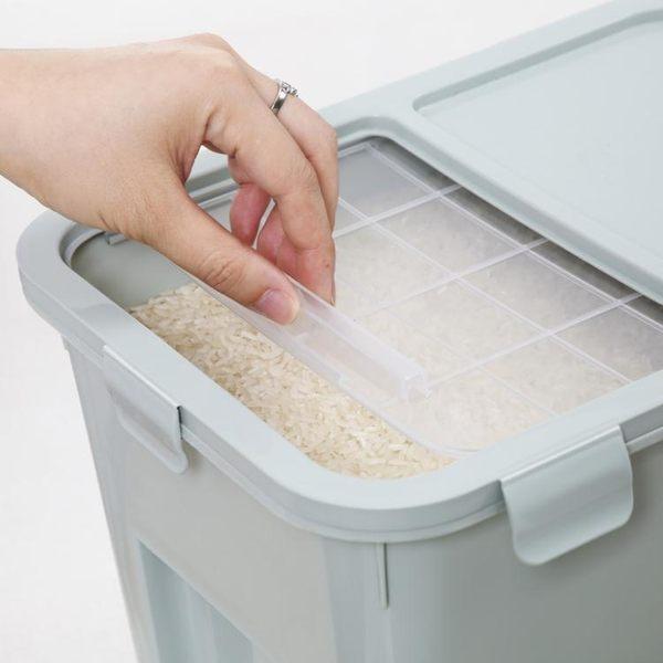 促銷款米桶304不銹鋼方形米桶 食品級面粉桶儲米箱防潮防蟲xc