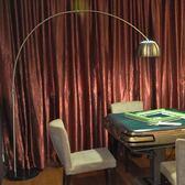 落地燈簡約現代創意LED護眼麻將燈遙控客廳沙發落地燈臥室書房釣魚燈igo 貝兒鞋櫃