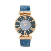【Folli Follie】DYNASTY奢華晶鑽羅馬時尚腕錶-澗石藍/WF1B029SSU_BL/台灣總代理公司貨享兩年保固
