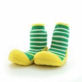 韓國 Attipas 快樂腳襪型學步鞋-草地派對