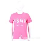 MSGM 品牌人氣款粉色字母T恤 1940278-41