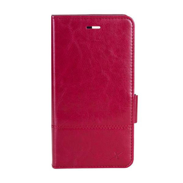 Moxie X-Shell iPhone 7 Plus / 8 Plus 皮革質感防電磁波手機套 皮套 酒釀紅