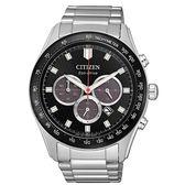 CITIZEN 星辰 光動能(CA4454-89E)三眼計時 防水 手錶