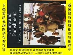 二手書博民逛書店Crime罕見and Punishment - Fyodor Dostoevsky 《罪與罰》陀斯妥耶夫斯基的代表