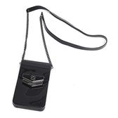 Petite Jolie  盾牌LOGO果凍手機包-黑色