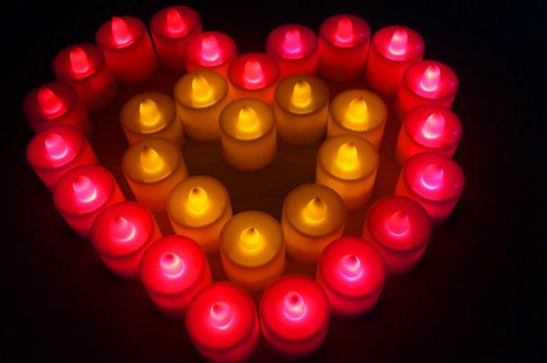TwinS LED電子安全蠟燭燈排字求婚婚禮贈品生日浪漫派對告白畢業許願露營演唱晚會s