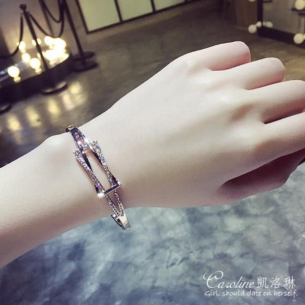 《Caroline》★【春意】浪漫風格,優雅性感.水晶時尚手鍊68792