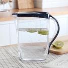 家用塑料冷水壺涼水壺耐熱大容量果汁扎壺夏季茶水壺泡茶壺xy2799【艾菲爾女王】
