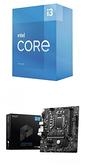 【自組DIY兩件組I3】Intel i3-10105+微星 B560M-A PRO