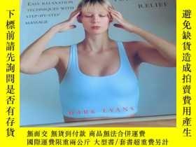二手書博民逛書店instant罕見massage for stress reliefY20113 Mark Evans Seb