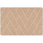 【葡萄牙Amorim】KORKO軟木餐墊(白條紋)4入組