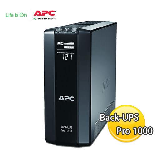 APC 艾比希 Back-UPS Pro 1000 UPS不斷電系統 BR1000G-TW
