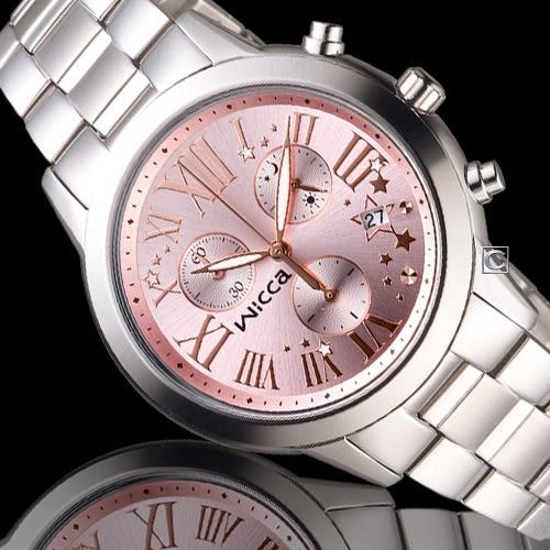 WICCA 璀璨時刻計時腕錶 BM1-211-91