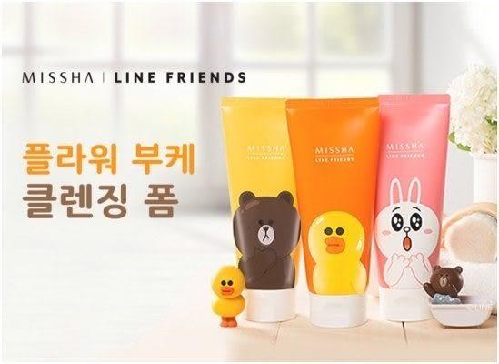 【Miss.Sugar】MISSHA X LINE Friends 聯名系列 熊大 莎莉 兔兔洗面乳 150ml