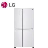 LG 830公升 WiFi門中門對開冰箱 GR-DL80W 晶鑽白